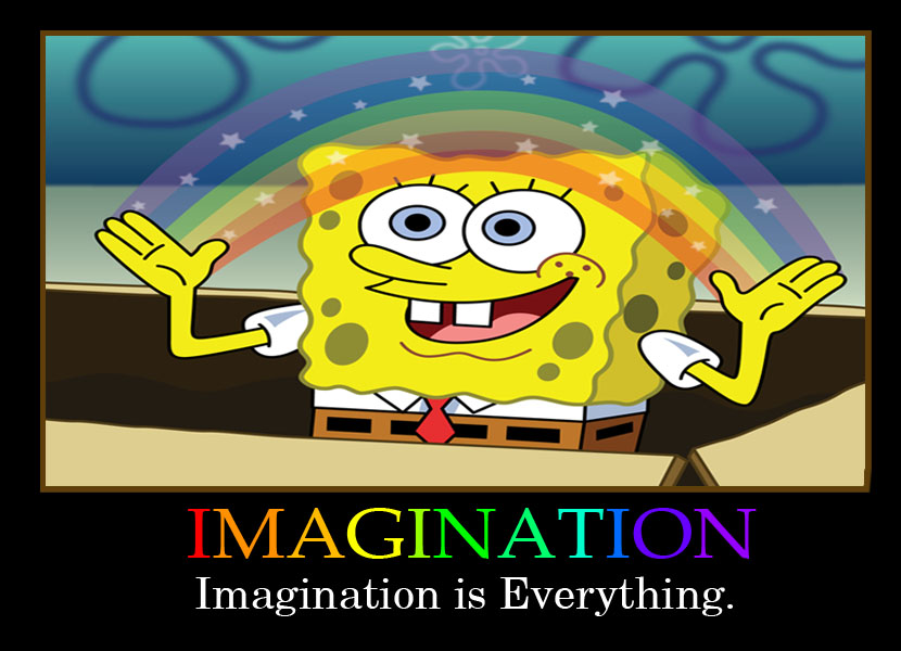 [Image - 309789] | Imagination Spongebob | Know Your Meme