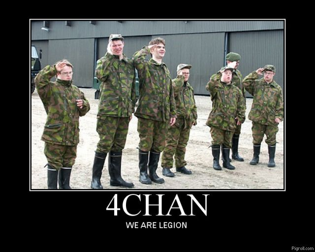 4chan 4chan  We Are Legion