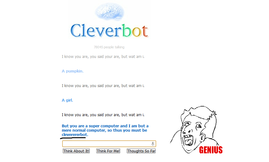Cleverbot Funny