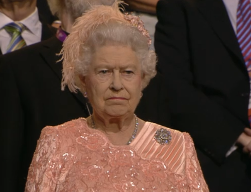 Queen not amused
