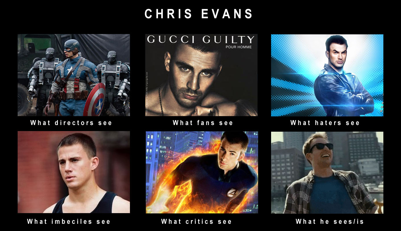 Chris Evans | What People Think I Do / What I Really Do ...