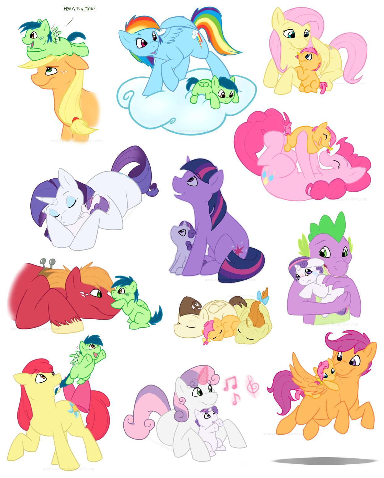 My little pony lesbians