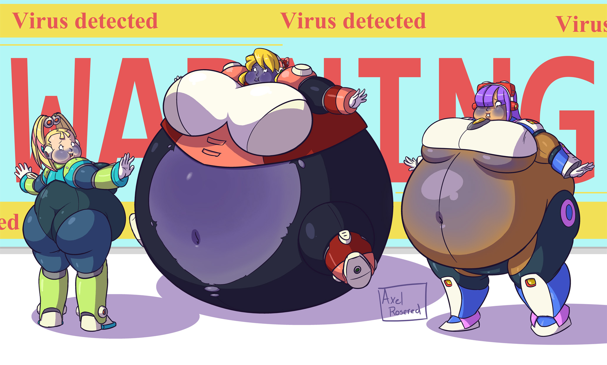 Deviantart Megaman Alia Inflation: Navigator Berries By Axel-Rosered