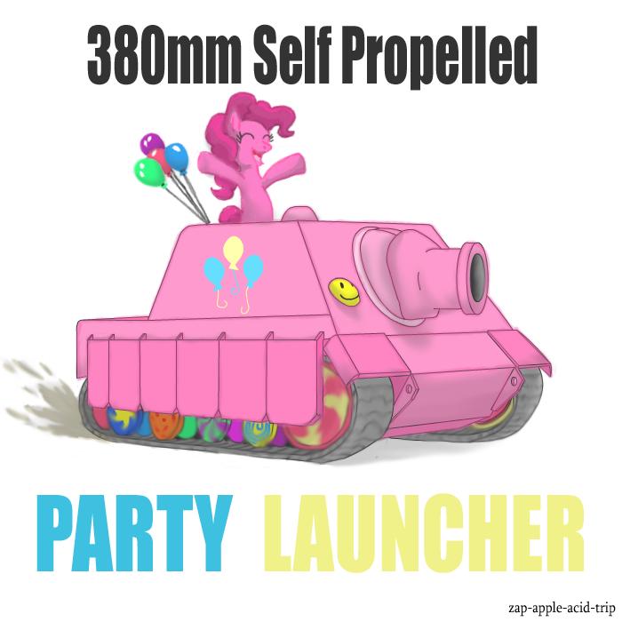 Crossover : MLP FiM + Tanks 2e0