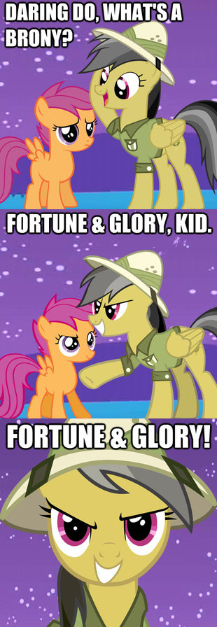 Daring Do And The Bronies Of Doom My Little Pony
