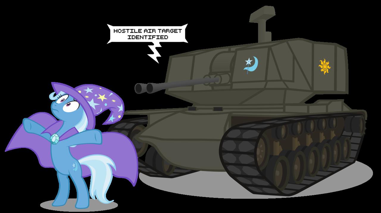 Crossover : MLP FiM + Tanks A94