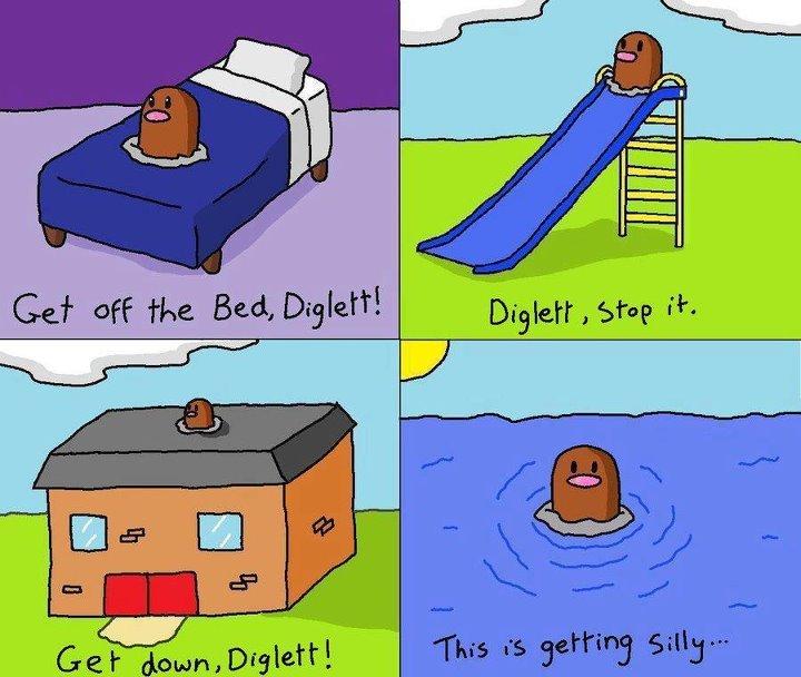 [Image - 410744] | Diglett Underground | Know Your Meme  [Image - 410744...