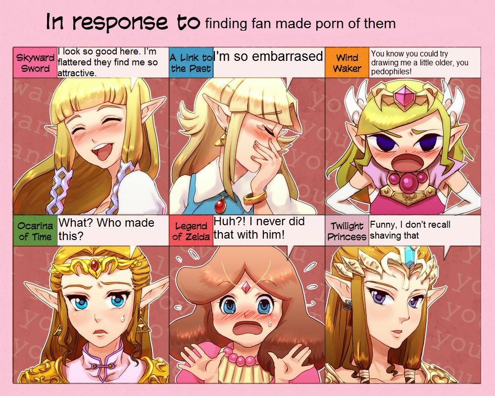 Fanmade porn   Zeldas Response   Know Your Meme