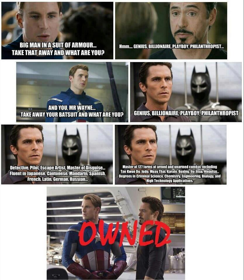 Man Cave Vs Study Meme : Image the avengers know your meme