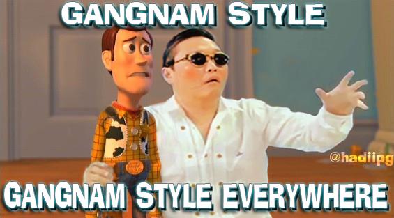 gangnam style everywhere by yefta03 psy gangnam style