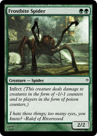 Frostbite Spider MTG card | Magic the Gathering | Know ...