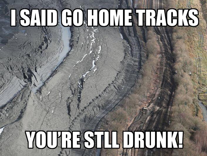 I Said Go Home Tracks, You're Still Drunk!