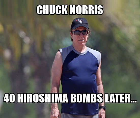 Chuck Norris Shaved His Beard Chuck Norris Facts Know