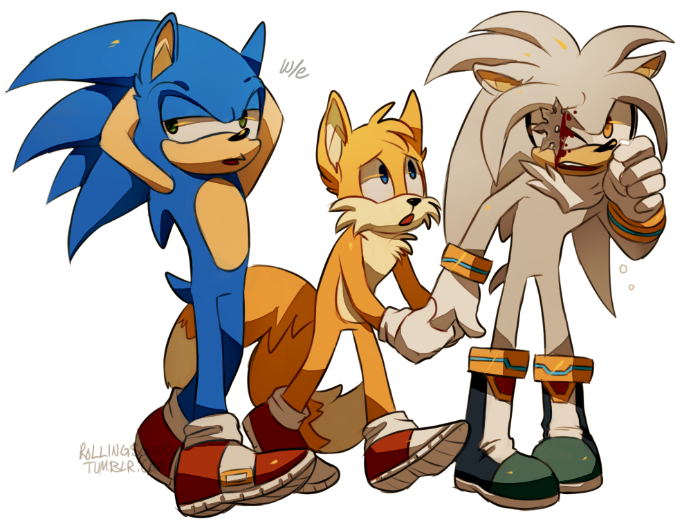 We Need To Kill Silver And Bury Him In Tails' Backyard