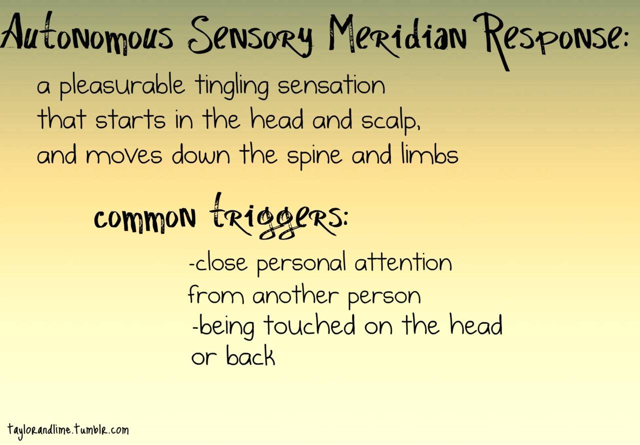 Image - 527409]   <b>Autonomous Sensory Meridian Response</b> (ASMR <b>...</b>