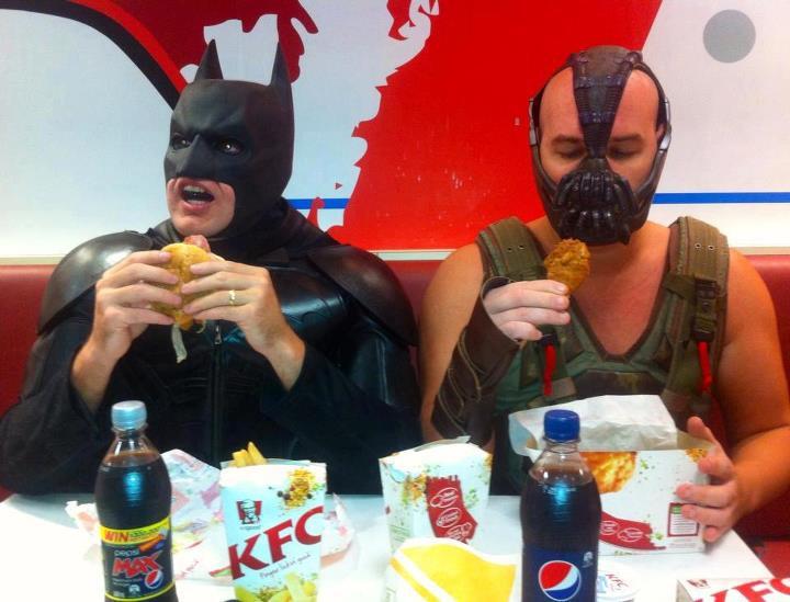Kfc Guy Funny: KFC Brings Enemies Together
