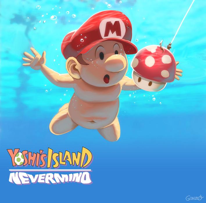 Yoshi Island - Nevermind   Alternate Universe   Know Your Meme