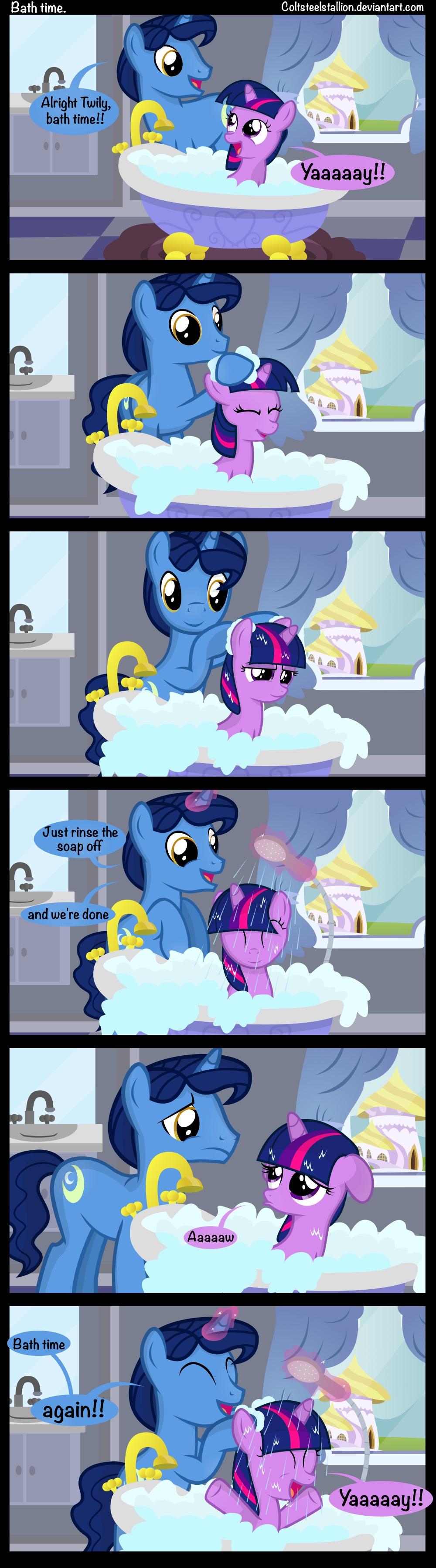 bath time   my little pony: friendship is magic   know your meme