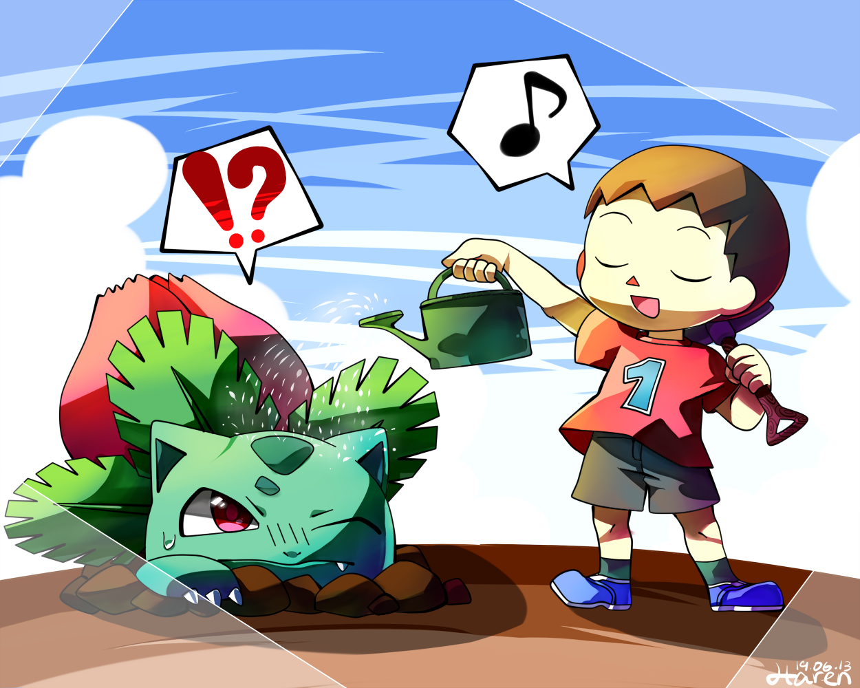 Villager super smash bros