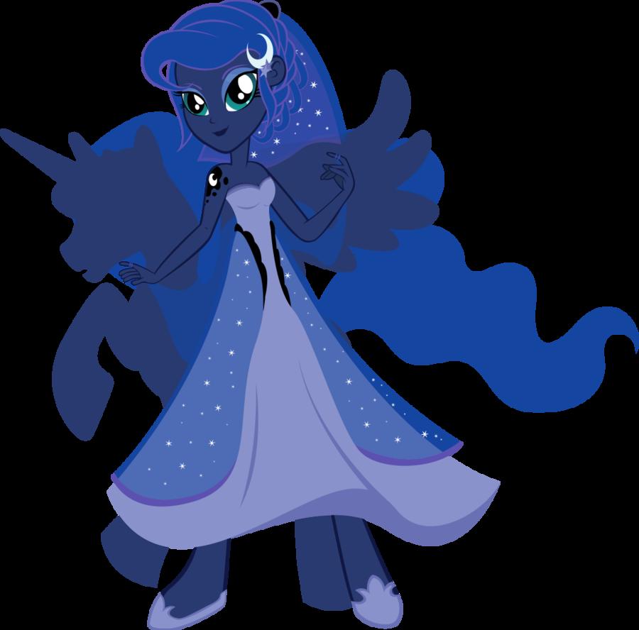 Equestria Girls - Princess Luna   My Little Pony ...