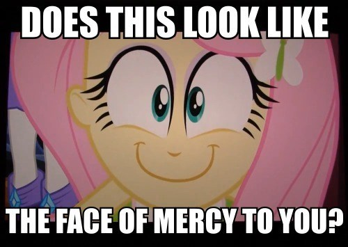 equestria girls fluttershy does this look like the face