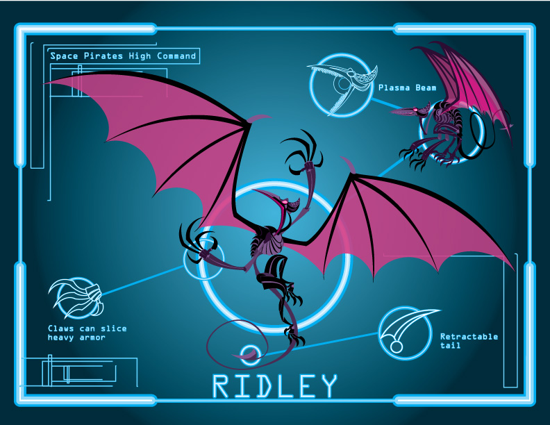 Metroid Ridley Wallpaper