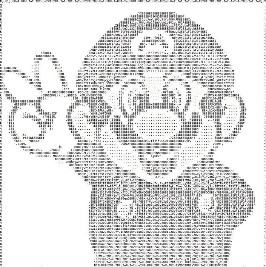 ascii art에 대한 이미지 검색결과