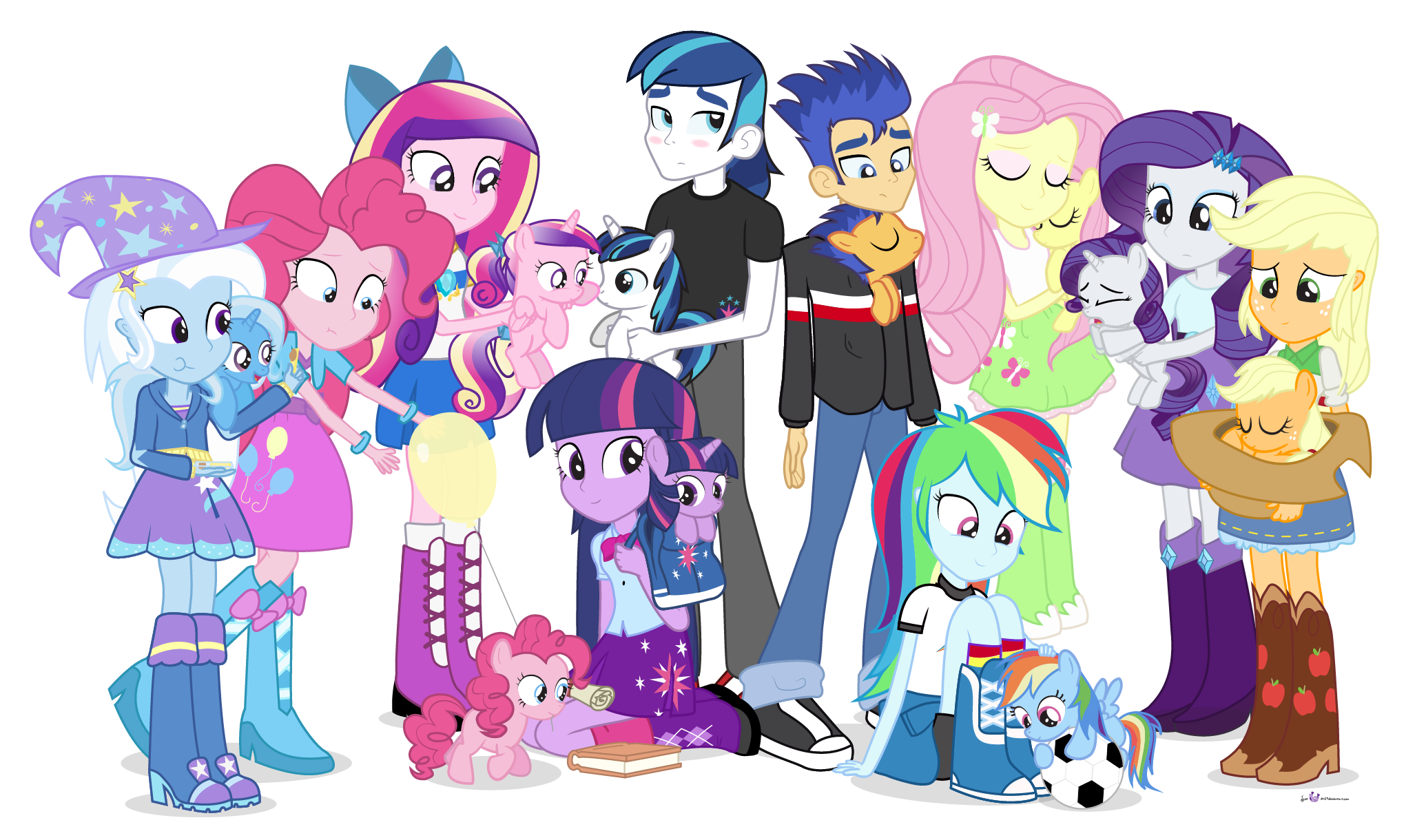 My little pony friendship is magic ponies for everyone