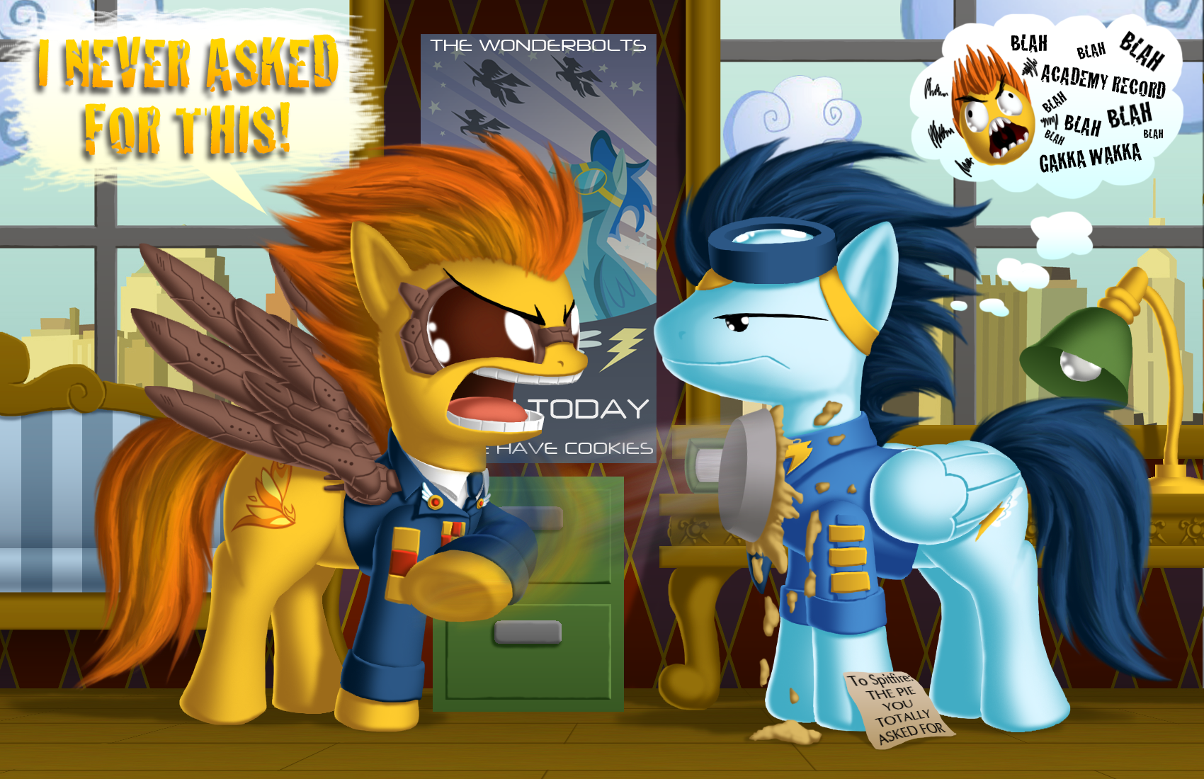 A Day In The Life Of A Wonderbolt My Little Pony