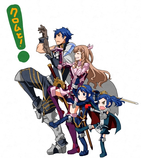 Chrom, Sumia, Lucina, and Cynthia Thriller | Fire Emblem ...