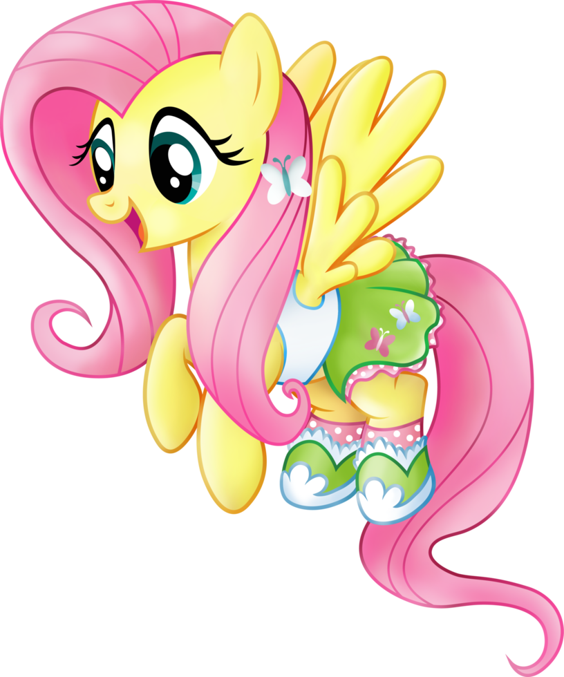 Pony  Friendship is Magic -Fluttershy Equestria Girls casual clothesFluttershy Suicide