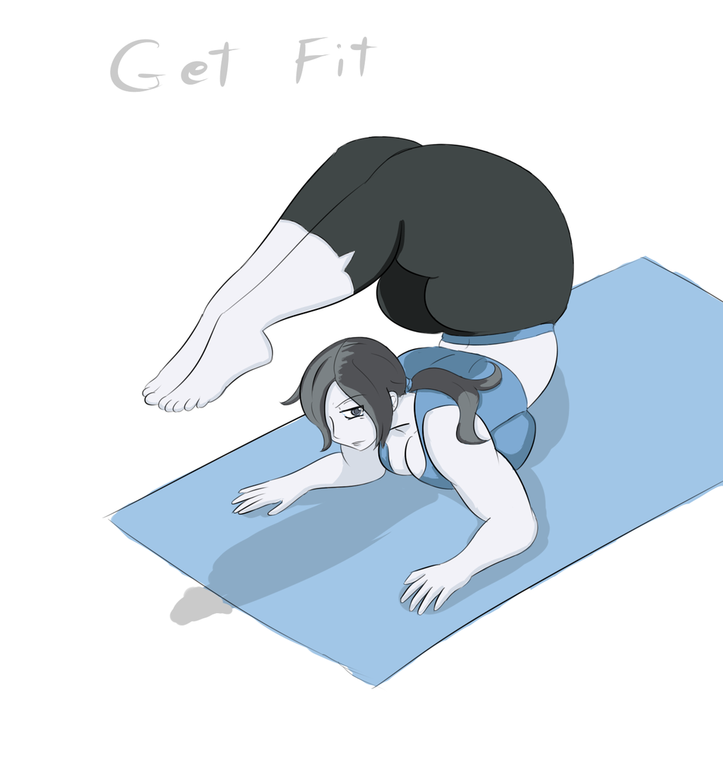 Get Fit By Owlizard   Wii Fit Trainer   Know Your Meme