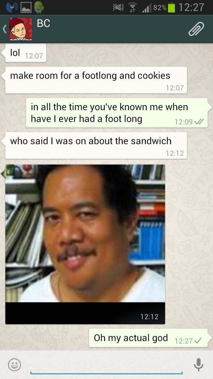 Creepy online dating meme