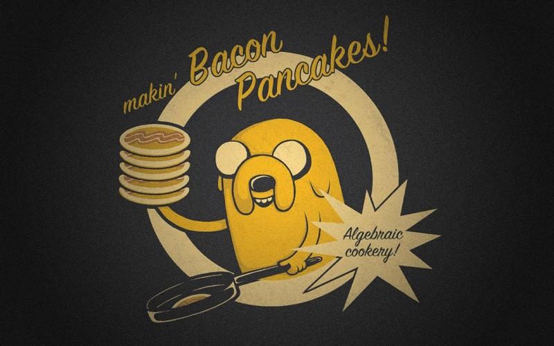 Bacon Pancakes Adventure Time Know Your Meme