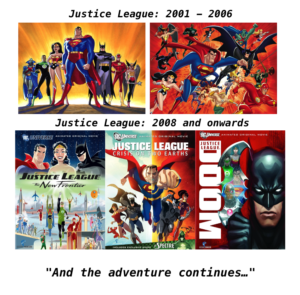 Justice League Childhood Enhanced Know Your Meme