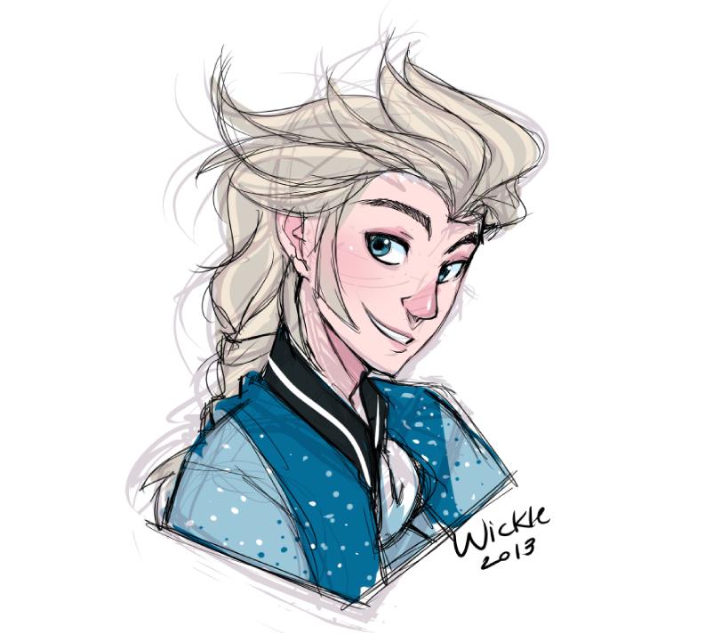 Elsa From Disney S Frozen Rule 63 Know Your Meme