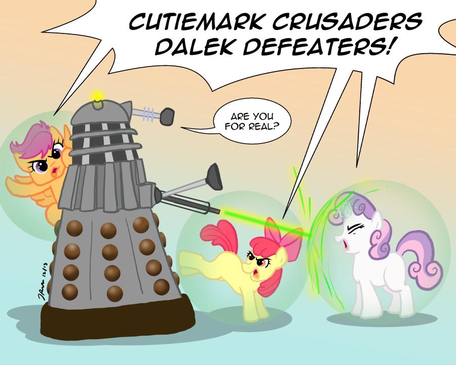Ponies Vs Daleks Season Two Cutiemark Crusaders My