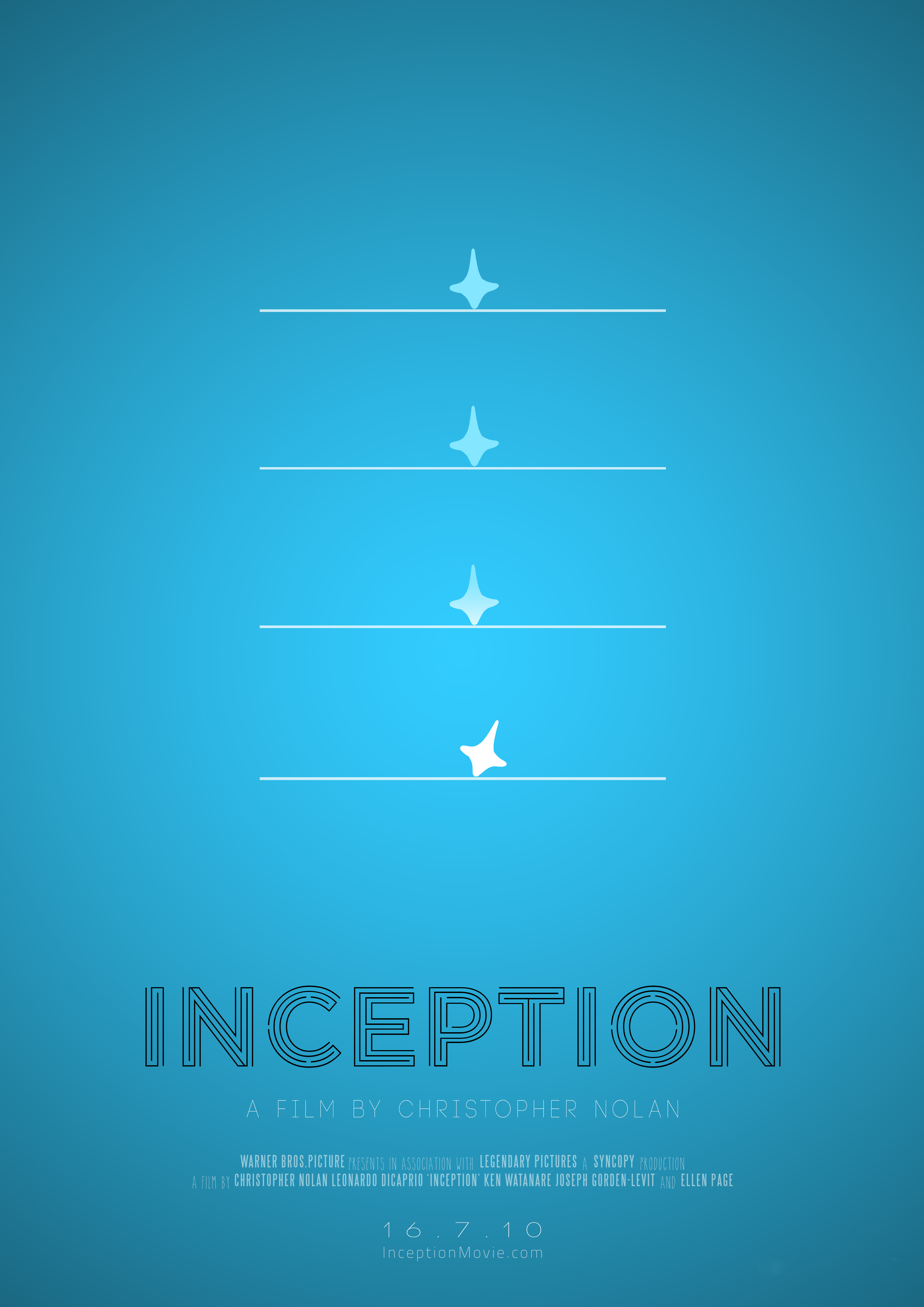 inception minimal poster minimal movie posters know