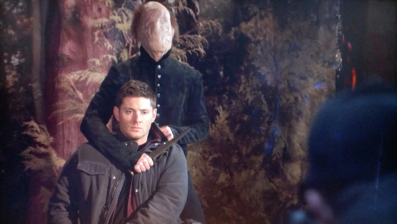 """Thinman"" from ""Supernatural"" attacking Dean Winchester ..."