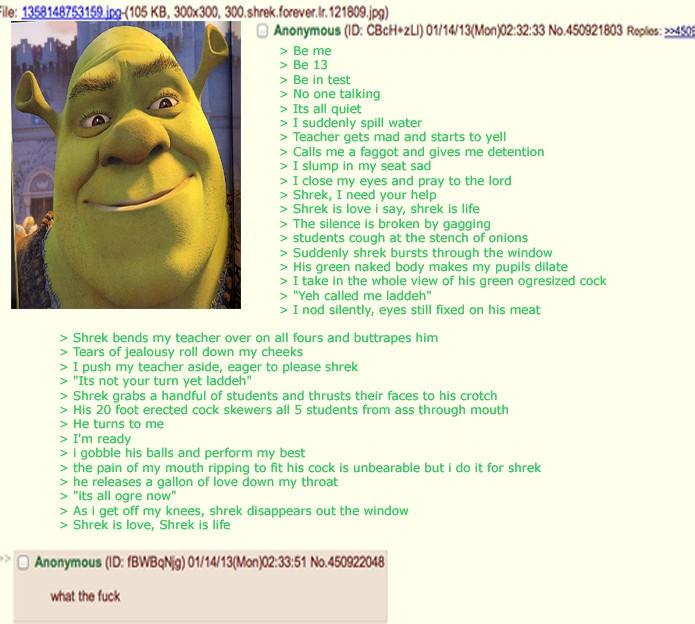 Shrek essay notes