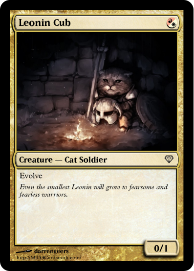 Leonin Cub Magic The Gathering Know Your Meme
