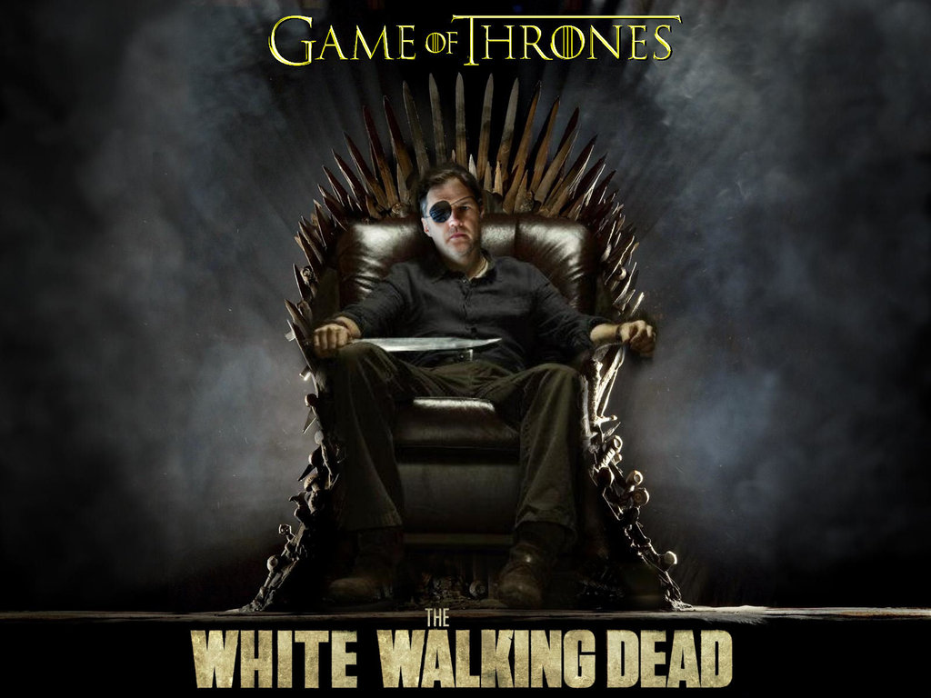Super Mario Game Of Thrones Crossover Iron Throne: Game Of The White Walking Dead