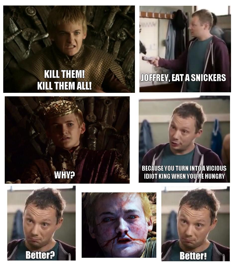 Game of thrones memes joffrey