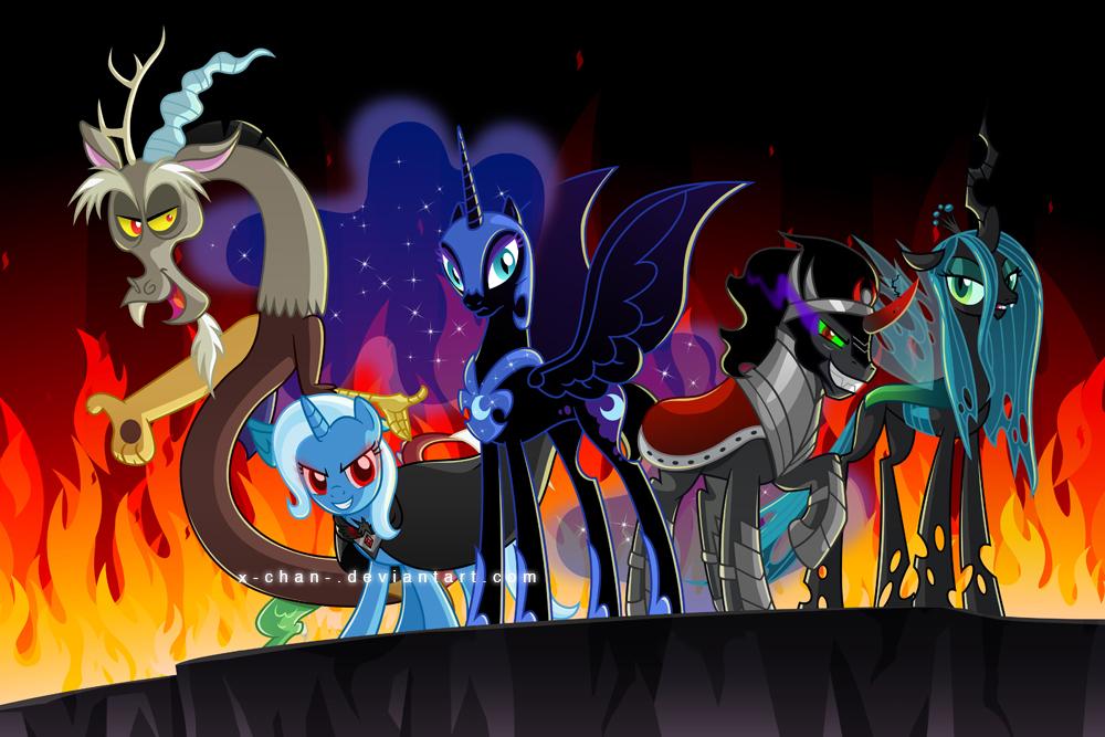 My Little Villains My Little Pony Friendship Is Magic