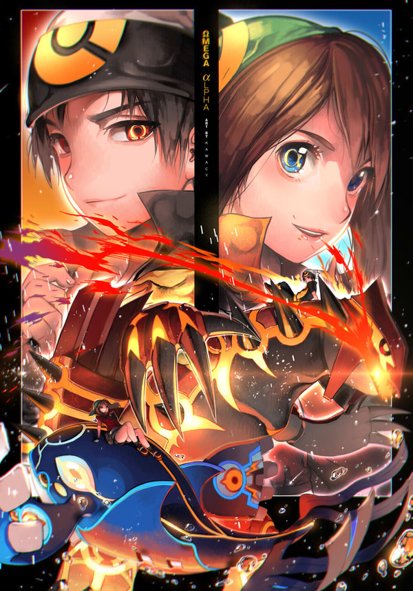 Omega Ruby and Alpha Sapphire Poster! HYPE TRAIN ...