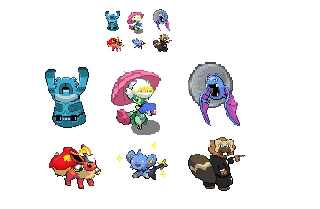 Platinum team sprites | Twitch Plays Pokemon | Know Your Meme