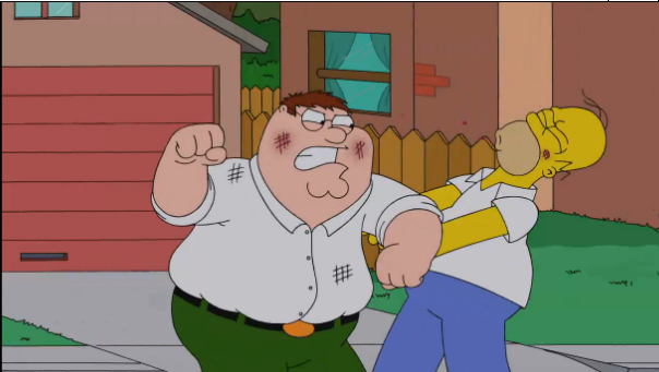 Peter Griffin Vs Homer Simpson The Simpsons Know Your Meme