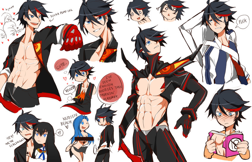 Kill La Kill Matoi Rule 34