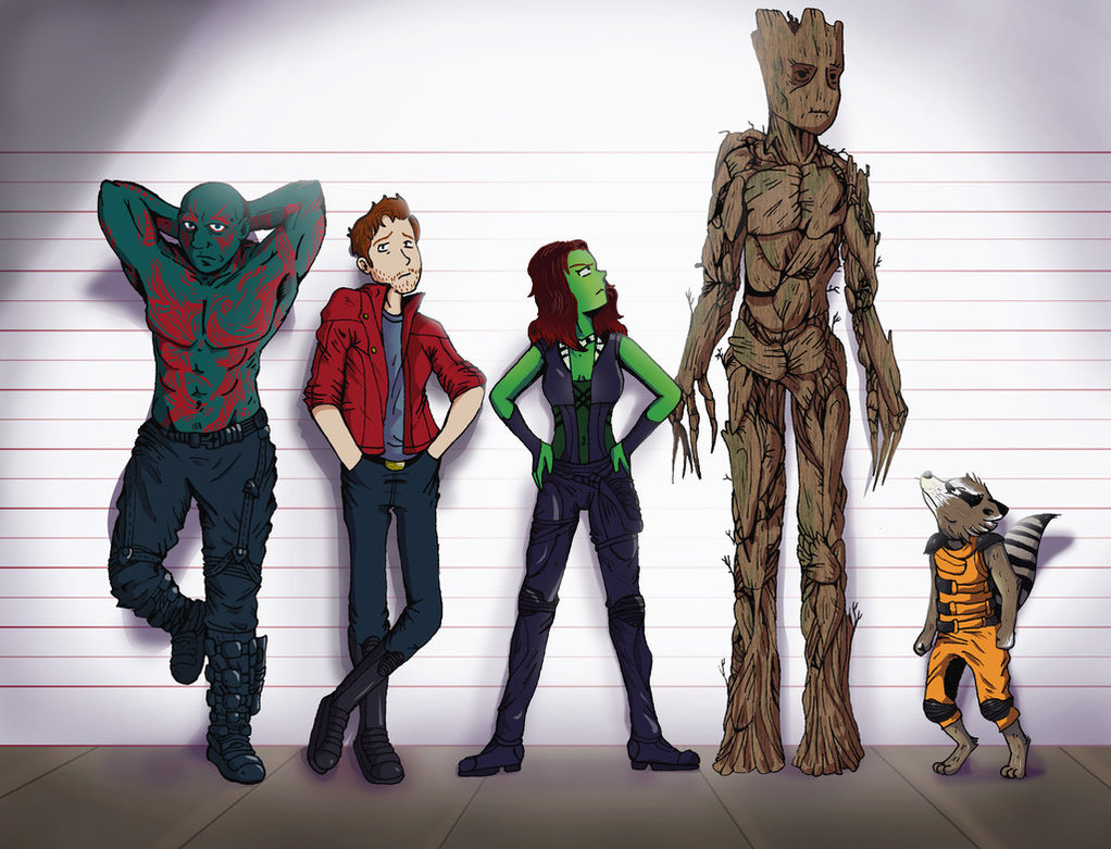 Star Lord And Rocket Raccoon By Timothygreenii On Deviantart: Guardians Of The Galaxy
