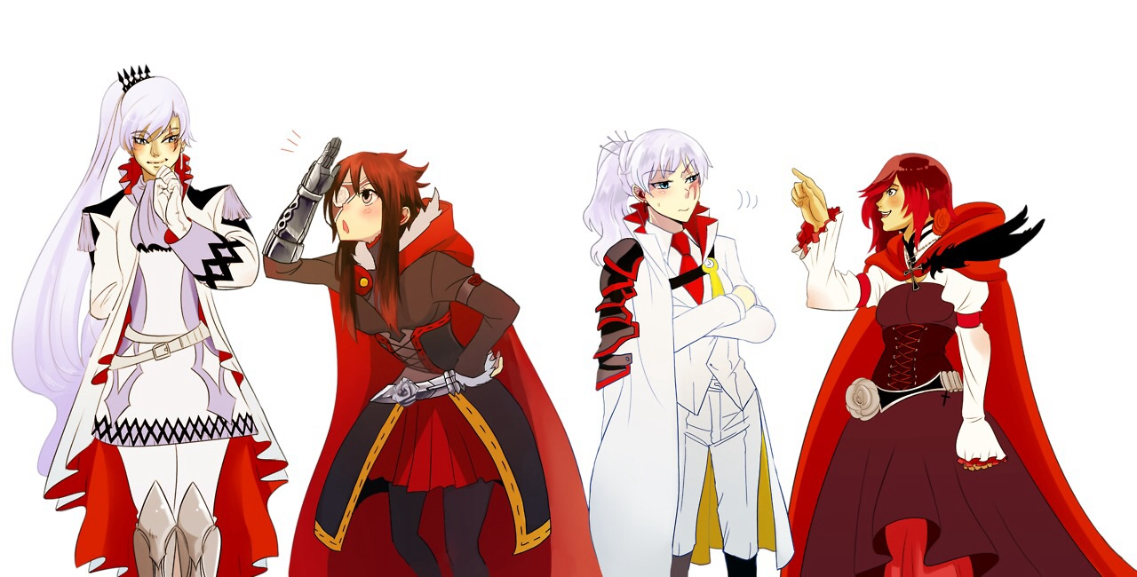 Funblade 39 s white rose and henceforward 39 s white rose rwby - Ruby rose rule 34 ...